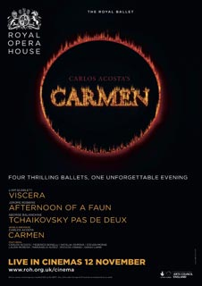 Viscera / Afternoon of a Faun / Tchaikovsky pas de deux / Carmen  (Live) - Royal Opera House 2015