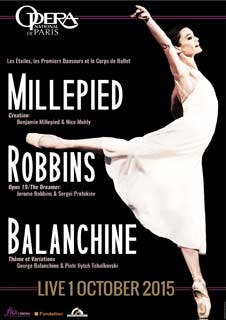 Millepied/Robbins/Balanchine - Live - Opera National De Paris